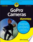 GoPro Cameras For Dummies Book