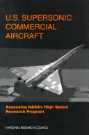 U.S. Supersonic Commercial Aircraft: