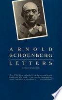 Arnold Schoenberg Letters