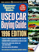 Used Car Buying Guide 1996