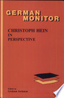 Christoph Hein in Perspective