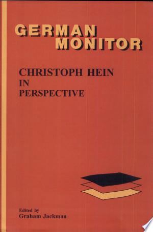 [pdf - epub] Christoph Hein in Perspective - Read eBooks Online