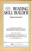Reading Skills Builder Level 3