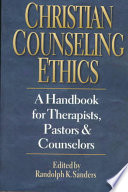 Cover of Christian Counseling Ethics