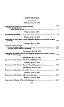 Department of the Interior and Related Agencies Appropriations for Fiscal Year 1994  Department of Agriculture     Energy     Health and Human Services     Interior     Smithsonian Institution