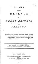 Plans for the Defence of Great Britain and Ireland