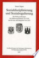 Sozialdisziplinierung und Sozialregulierung