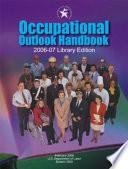 Occupational Outlook Handbook 2006 07 Clothbound