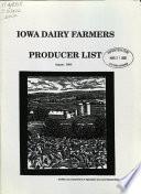 Iowa Dairy Farmers Producer List