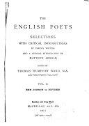 Ben Jonson to Dryden