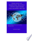 Principles Of Marketing Multiple Choice Questions And Answers Mcqs  Book PDF