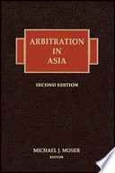 Arbitration In Asia 2nd Edition