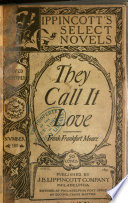 They Call it Love Book