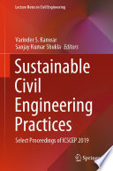 Sustainable Civil Engineering Practices