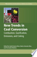 New Trends in Coal Conversion Book