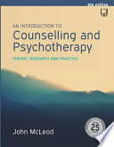 EBOOK  An Introduction to Counselling and Psychotherapy  Theory  Researc h and Practice Book PDF