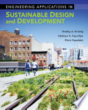 Engineering Applications in Sustainable Design and Development Book