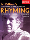 Pat Pattison's Songwriting: Essential Guide to Rhyming Pdf/ePub eBook