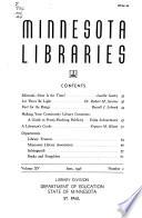 Minnesota Libraries