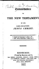 A Concordance to the New Testament, Etc ebook