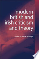 Modern British And Irish Criticism And Theory  A Critical Guide