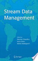 Stream Data Management Book PDF