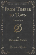 From Timber to Town