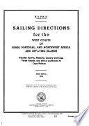 Sailing Directions for the West Coasts of Spain, Portugal, and Northwest Africa and Offlying Islands