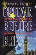 Britain Before Brexit Pdf