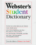 Webster S Student Dictionary