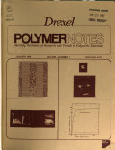 Drexel Polymer Notes Book PDF