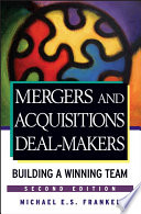 Mergers and Acquisitions Deal Makers