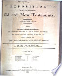 An Exposition Of All The Books Of The Old And New Testaments