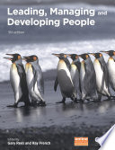 Leading  Managing and Developing People Book
