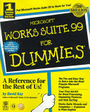 Microsoft  Works Suite 99 For Dummies