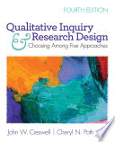 Qualitative Inquiry And Research Design Book
