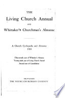 The Living Church Annual And Whittaker S Churchman S Almanac