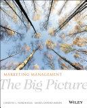 Pdf Marketing Management: The Big Picture Telecharger