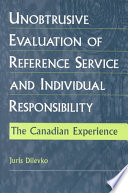 Unobtrusive Evaluation Of Reference Service And Individual Responsibility