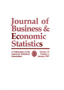 journal of business & economic statistics