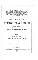 Southey s Common place Book