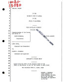 California  Court of Appeal  1st Appellate District   Records and Briefs Book PDF