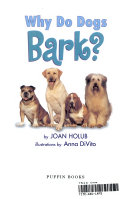 Why Do Cats Meow  Why Do Dogs Bark  Book PDF
