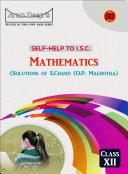 ISC Mathematics - Solutions of O.P. Malhotra (S. Chand) Class 12 Pdf/ePub eBook