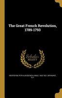 GRT FRENCH REVOLUTION 1789-179