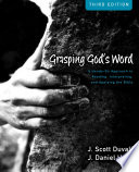 Grasping God S Word Workbook PDF