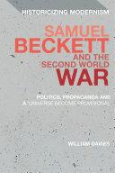 Samuel Beckett and the Second World War