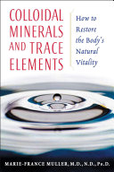 Colloidal Minerals and Trace Elements