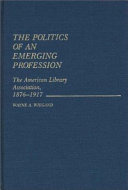 The Politics Of An Emerging Profession Book PDF
