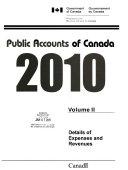 Public Accounts of Canada 2010